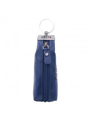 Ключница кожа KARYA 446-44 синий флотар