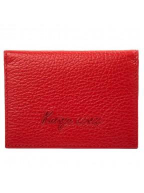 Обложка для авто кожа KARYA 096-46 красный флотар