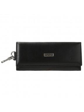 Ключница кожаная Desisan 952-10110 черный гладкий