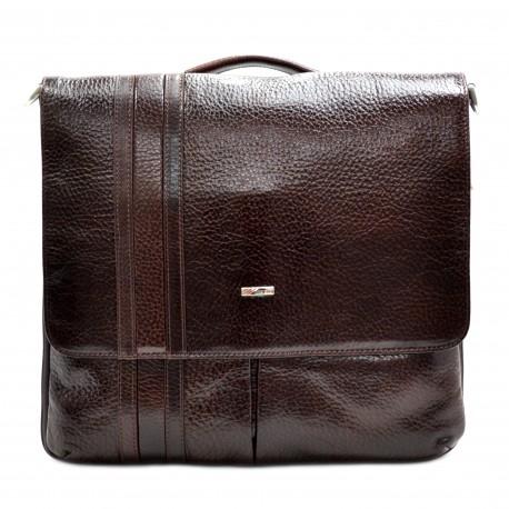 Портфель кожа Desisan 1337-019 коричневый флотар