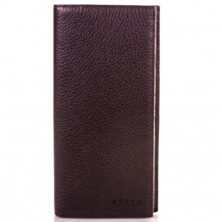Портмоне мужское кожа KARYA 0937-39 коричневый флотар