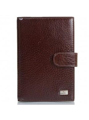 Обложка авто+паспорт  кожа Desisan 102-019 коричневый флотар