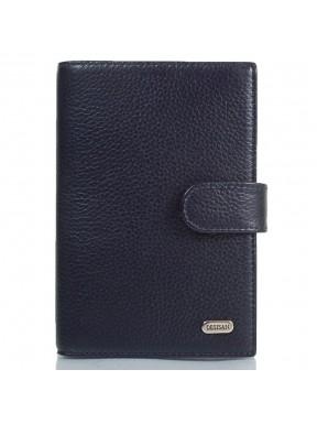 Обложка авто+паспорт  кожа Desisan 102-315 синий флотар