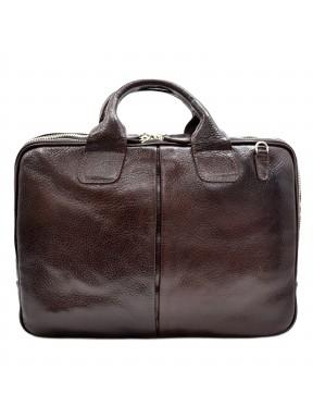 Портфель кожа Desisan 052-019 коричневый флотар