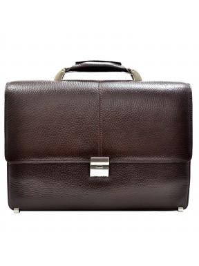 Портфель кожа Desisan 5006-019 коричневый флотар