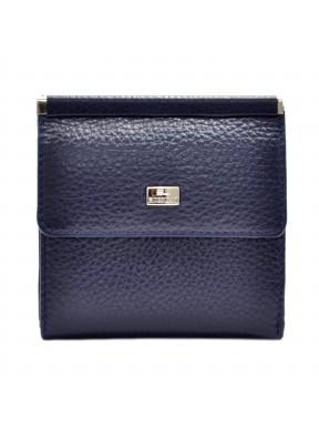 Женское портмоне кожа Desisan 067-315 синий флотар