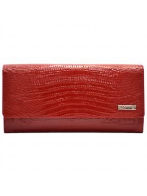 Кошелек женский кожаный Desisan 150-131 красный лазер