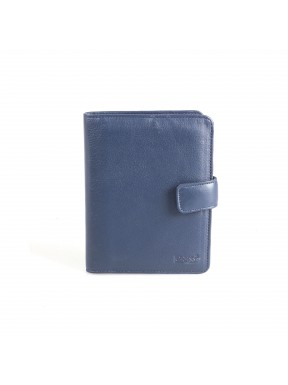 Визитница кожа GRASS 576-18 синий флотар