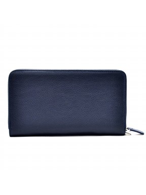 Барсетка кожа мягкая CANPEL 750-241 синий флотар