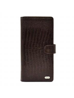 Портмоне кожа Desisan 069-142 коричневый лазер
