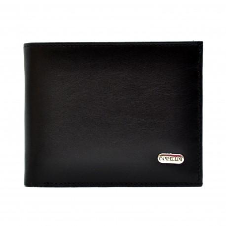 Портмоне кожа CANPEL 1105-1 черный гладкий