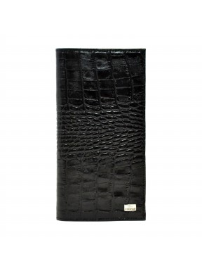 Портмоне кожа Desisan 111-11 черный кроко