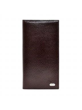 Портмоне кожаное Desisan 111-019 коричневый флотар