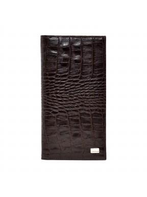 Портмоне кожа Desisan 111-19 коричневый кроко