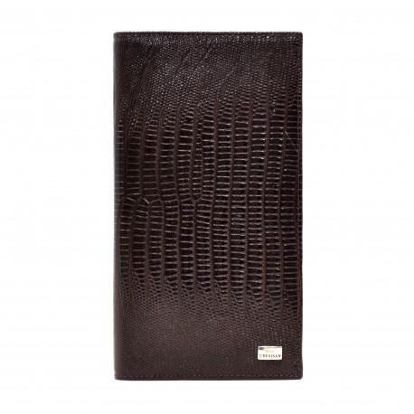 Портмоне кожа Desisan 111-142 коричневый лазер