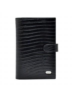 Портмоне кожаное Desisan 221-143 черный лазер