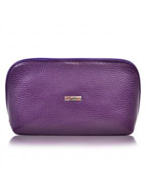 Косметичка кожа Desisan 1-413 фиолетовый