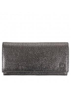 Женское портмоне кожа Desisan 057-669 серебро