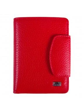 Кошелек женский кожаный Desisan 086-4 красный флотар