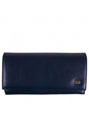 Женское портмоне кожа Desisan 057-315 синий флотар