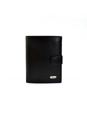 Портмоне кожа CANPEL 506-1 черный гладкий