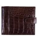 Портмоне кожаное GRASS 350-30 коричневый кроко