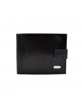 Портмоне кожа CANPEL 503-8 черный лазер