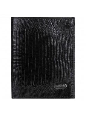 Портмоне кожа CANPEL 1101-8 черный лазер