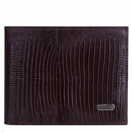 Портмоне кожа CANPEL 1105-143 коричневый лазер