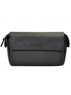 Барсетка кистевая BONIS экокожа 5679-111 черная