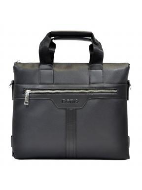 Портфель мягкий ТМ Bonis экокожа 89361- 1 черный