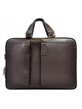 Портфель мягкий кожаный BOND 1103-286 коричневый