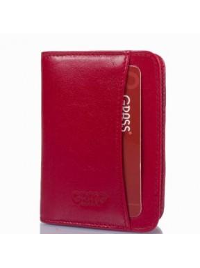 Кредитница кожа GRASS 540-5 красный гладкий