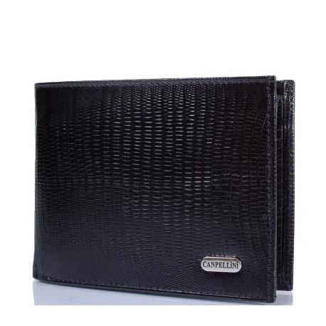 Портмоне кожа CANPEL 1043-8 черный лазер