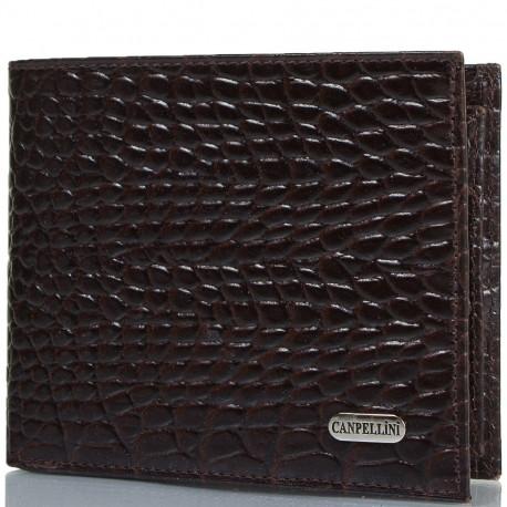 Портмоне кожа CANPEL 1044-11 коричневый кроко