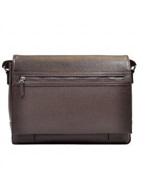 Портфель мягкий кожаный BOND 1108-286 коричневый