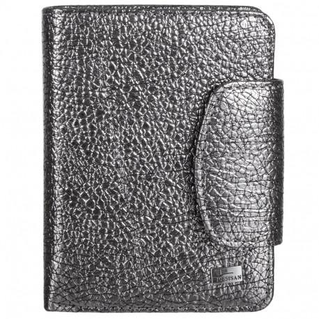 Кошелек женский кожа Desisan 086-669 серебро