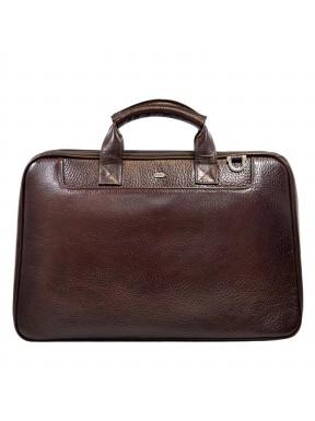 Портфель кожа Desisan 7007-019 коричневый флотар