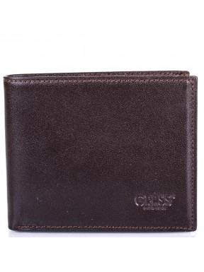 Визитница кожа GRASS 516-4 коричневый гладкий