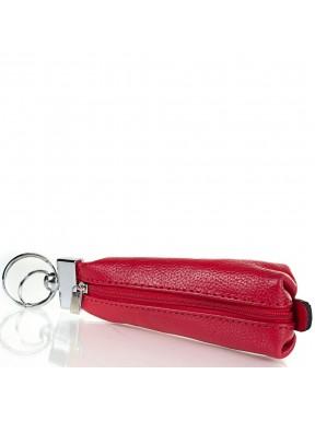 Ключница кожа Desisan 200-4 красный флотар