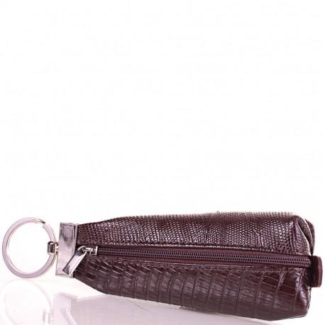 Ключница кожа Desisan 200-142 коричневый лазер