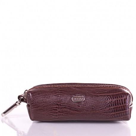 Ключница кожа Desisan 207-142 коричневый лазер