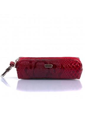 Ключница кожа Desisan 207-500 красный узор