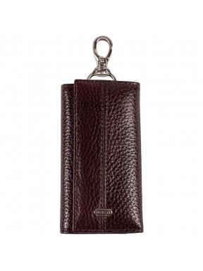 Ключница кожа Desisan 203-019 коричневый флотар
