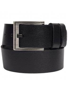 Ремень кожаный GRASS джинсы 5 см 2090-01 черный