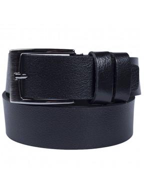 Ремень кожаный GRASS джинсы 4см 4-2009-01 черный