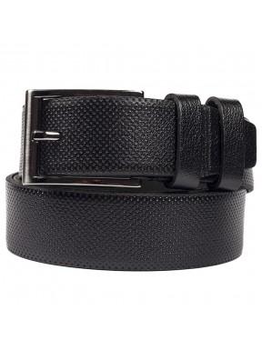 Ремень кожаный GRASS джинсы 4см 4-2078-01 черный