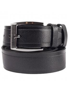 Ремень кожаный GRASS джинсы 4см 4-3066-01 черный