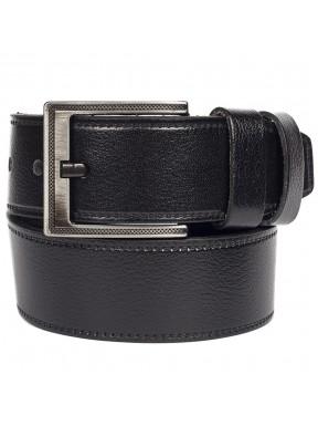 Ремень кожаный GRASS джинсы 5 см 2028-01 черный
