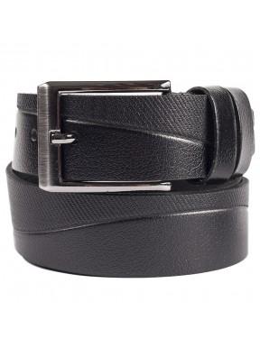 Ремень кожаный GRASS джинсы 4см 4-3067-01 черный